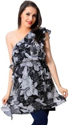 Trendy Divva Floral Print Women,s Tunic