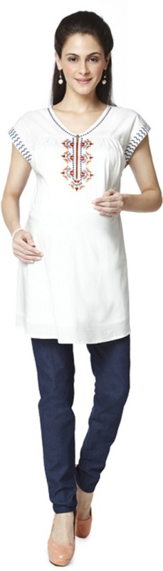 Nine Maternity Wear Embroidered Women's Tunic