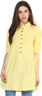 Love From India Solid Women's Tunic