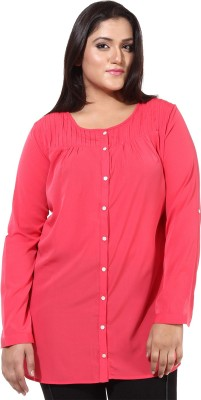 Oxolloxo Solid Women's Tunic