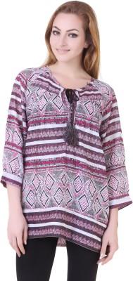 Silk Weavers Self Design Women's Tunic