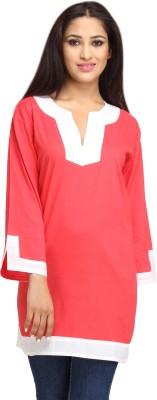 Needlecrest Solid Women's Tunic