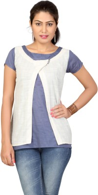 Lifestyle Retail Missy Solid Women's Tunic