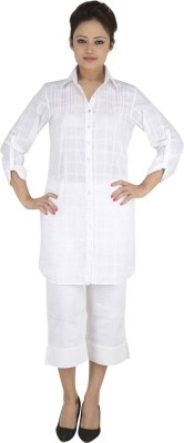 Vritti Checkered Women's Tunic