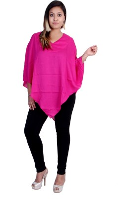 Indicot Solid Women's Tunic