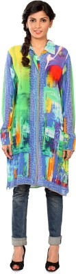 Nayana Graphic Print Women's Tunic