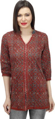 Drap Embellished Women's Tunic