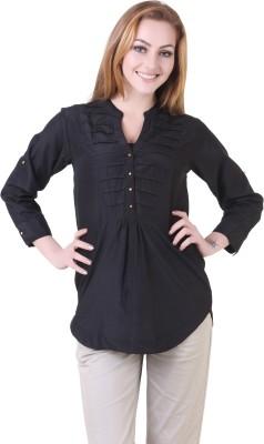 Silk Weavers Solid Women's Tunic