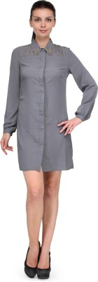 XnY Solid Women's Tunic
