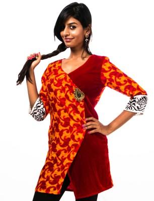 Vandanaraj Self Design Women's Tunic