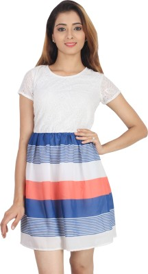 Su&Jay Striped Women,s Tunic