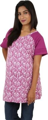 Kriti Western Maternity Floral Print Women's Tunic