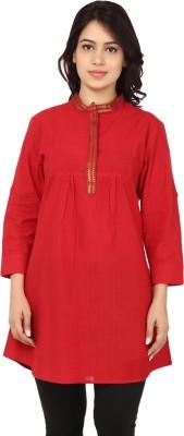 Nandhika Solid Women's Tunic