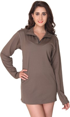 Bedazzle Solid Women's Tunic