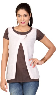Lifestyle Retail Missy Solid Women,s Tunic