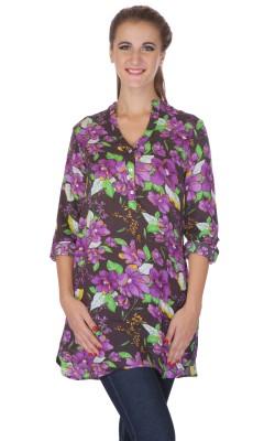 My Addiction Floral Print Women's Tunic