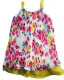 Textures Fashion Floral Print Girls Tuni...