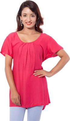 Jupi Solid Women's Tunic