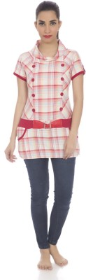 Clodentity Checkered Women's Tunic