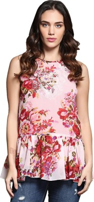 Sixes And Sevens Nyc Floral Print Women,s Tunic