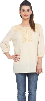 Global Colours Solid Women's Tunic