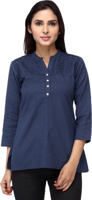 Lifestyle Retail Polka Print Women's Tunic