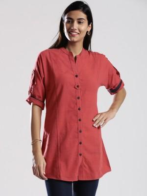 Fabindia Solid Women's Tunic