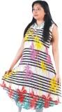 Glimmerra Printed, Striped Women's Tunic