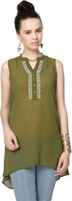 People Embroidered Women's Tunic