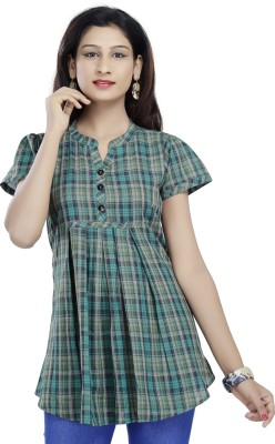 SHES Checkered Women's Tunic
