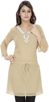 Anekaant Solid Women's Tunic
