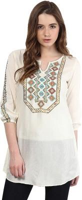 Taurus Embroidered Women's Tunic