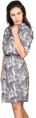 Curvy Q Printed Women,s Tunic