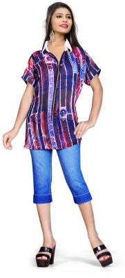 HSFS Printed Women's Tunic