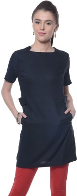 Meira Solid Women,s Tunic