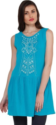Oxolloxo Embroidered Women's Tunic
