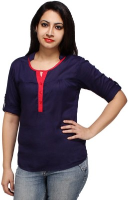 Styles Clothing Solid Women,s Tunic
