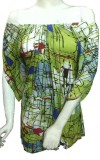 Miraaya Graphic Print Women's Tunic