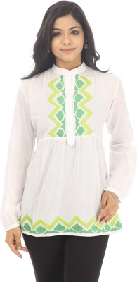 Live With Style Embroidered Women,s Tunic