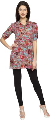 Texco Garments Floral Print Women's Tunic
