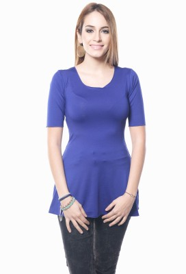Westhreads Solid Women's Tunic