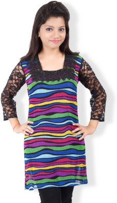 Jazzy Ben Striped Women,s Tunic