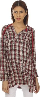 Remanika Checkered Women's Tunic