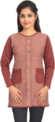Picot Embellished Women's Tunic