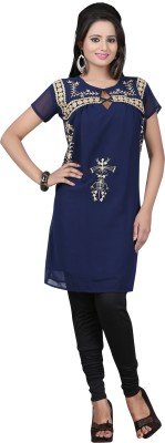 V's Fashion Point Embroidered Women's Tunic