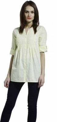 SbuyS Checkered Women's Tunic