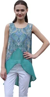 Meiro Solid, Printed Women's Tunic
