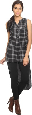 Label VR Checkered Women's Tunic