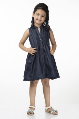 Vastra Valley Solid Girl's Tunic