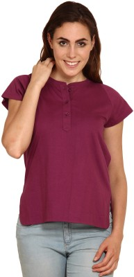 Miss Chick Solid Women's Tunic